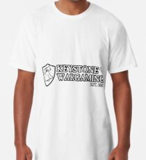 Keystone Wargaming Black Long T-Shirt