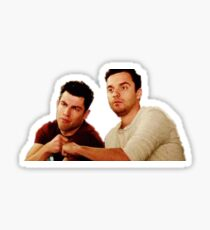 Schmidt and Nick Sticker