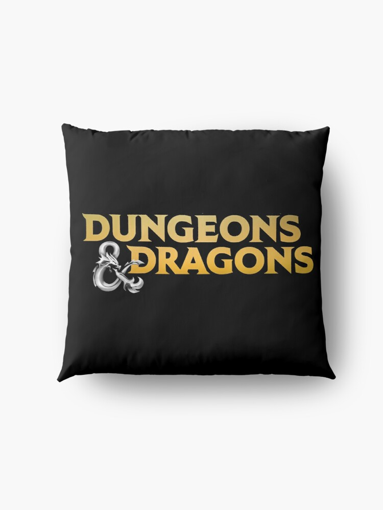 Alternate view of Dungeons & Dragons Floor Pillow