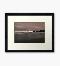 Cloudy Sunset II Framed Print