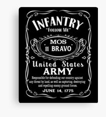 US Army Infantry Canvas Print