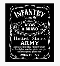 US Army Infantry Photographic Print