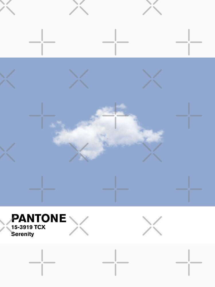 Serenity Blue Pantone Cloud de coverinlove