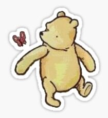Vintage Winnie the Pooh  Sticker