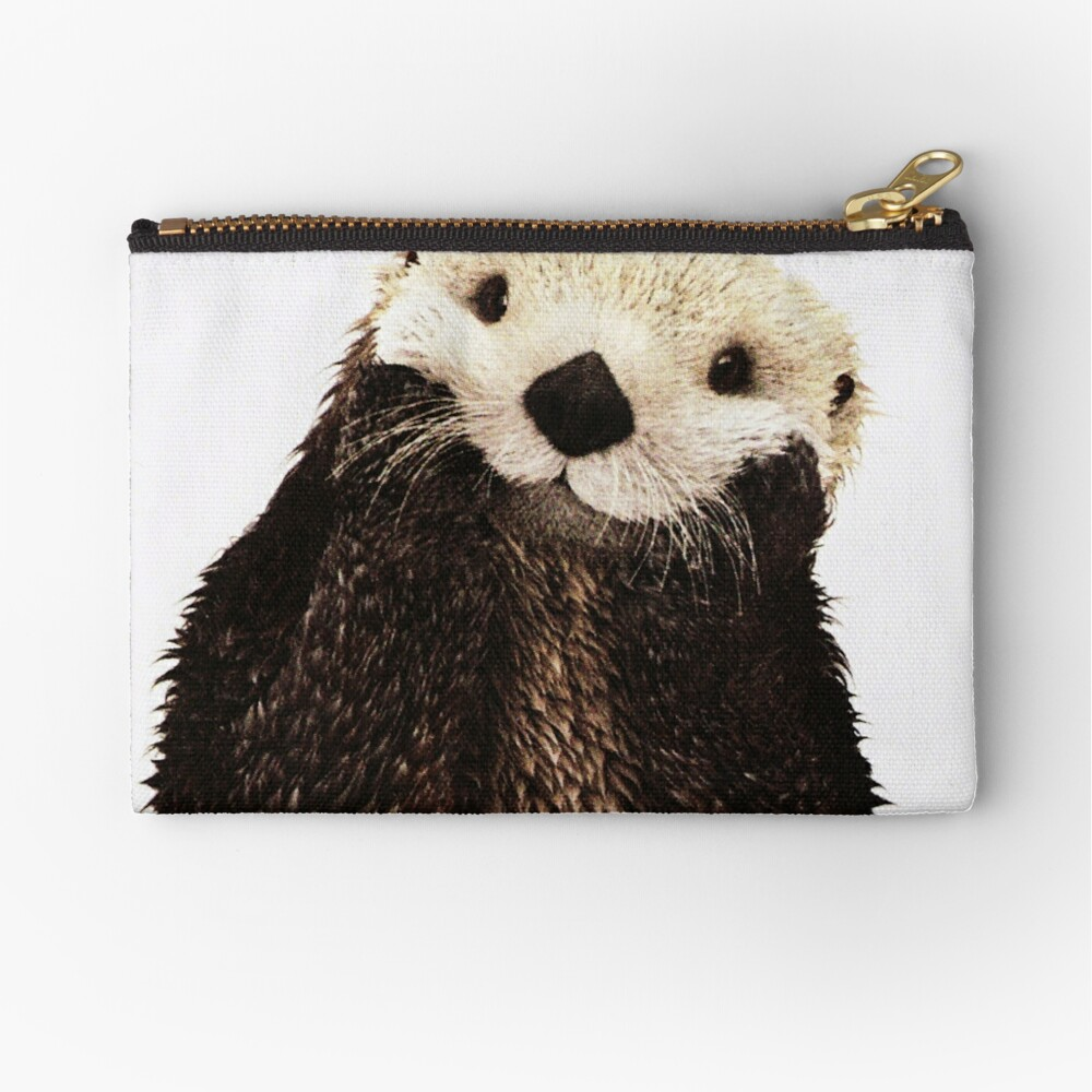 Otters Gonna Ott Zipper Pouch