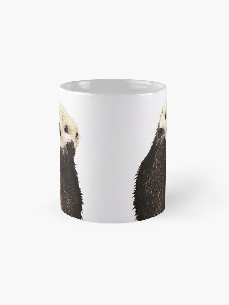 Alternate view of Otters Gonna Ott Mug