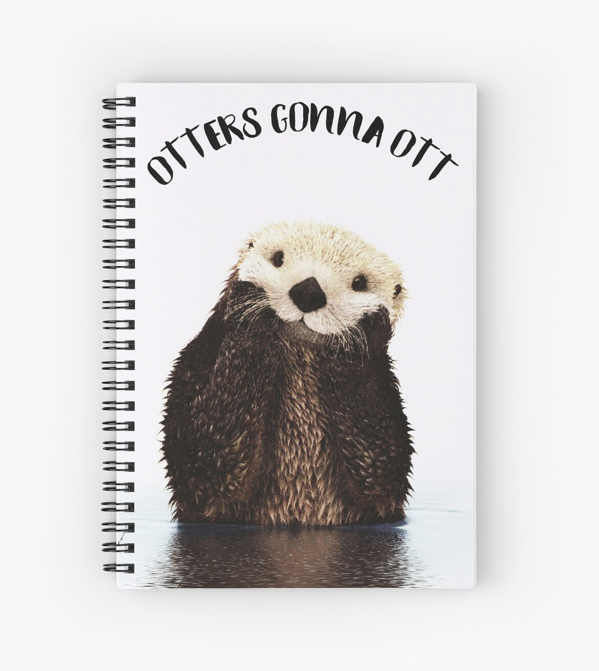 Otters Gonna Ott by Laura-Lise Wong