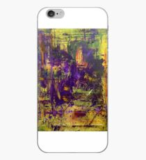 Abstract Original Purple Oil Painting Available  iPhone Case