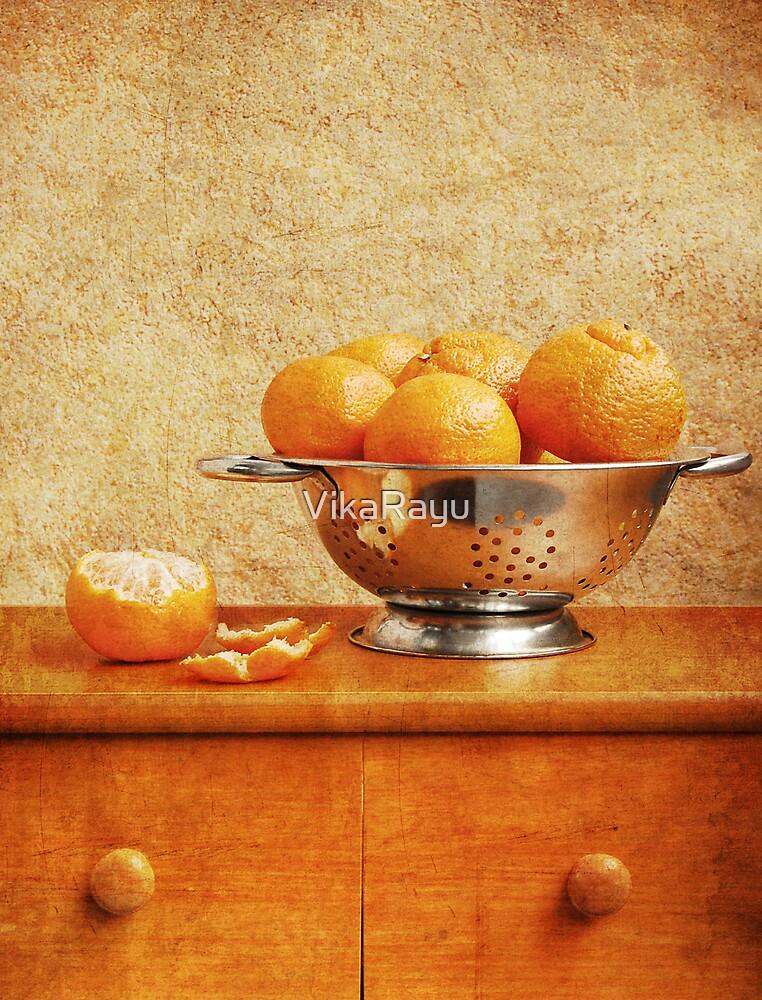 Tangerines by VikaRayu