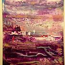 Abstract Southwest Landscape Western Skies by Darryl Green