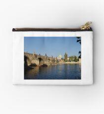Photo of The Charles Bridge in Prague Studio Pouch