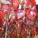 Valentines Balloons by Debbi Tannock