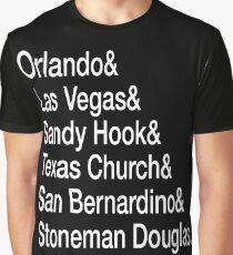 Gun Control Now Graphic T-Shirt