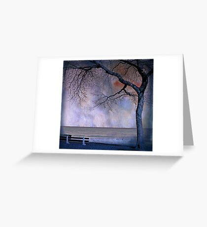under the tree (2) Greeting Card
