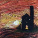 Cornish Tin Mine  by Kirsty Harper