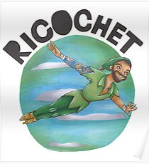 Ricochet is Peter Pan Poster