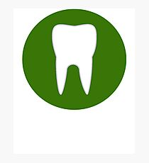 Green Tooth Photographic Print