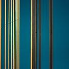 Gelbe Linien in den Himmel von josemanuelerre