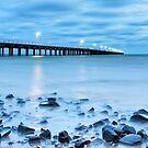 Blue Pier Bay by Oceansoul  Photografix - Susie Thomspon
