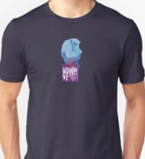 Blue monkey Unisex T-Shirt