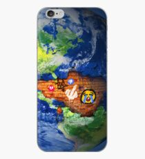 Deface Of The Planet iPhone Case