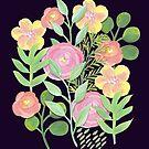 Painted Garden by Maryna Riabko