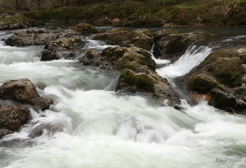 Calapooia River Oregon by Joe Powell