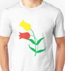 Spring is here with tulips Unisex T-Shirt