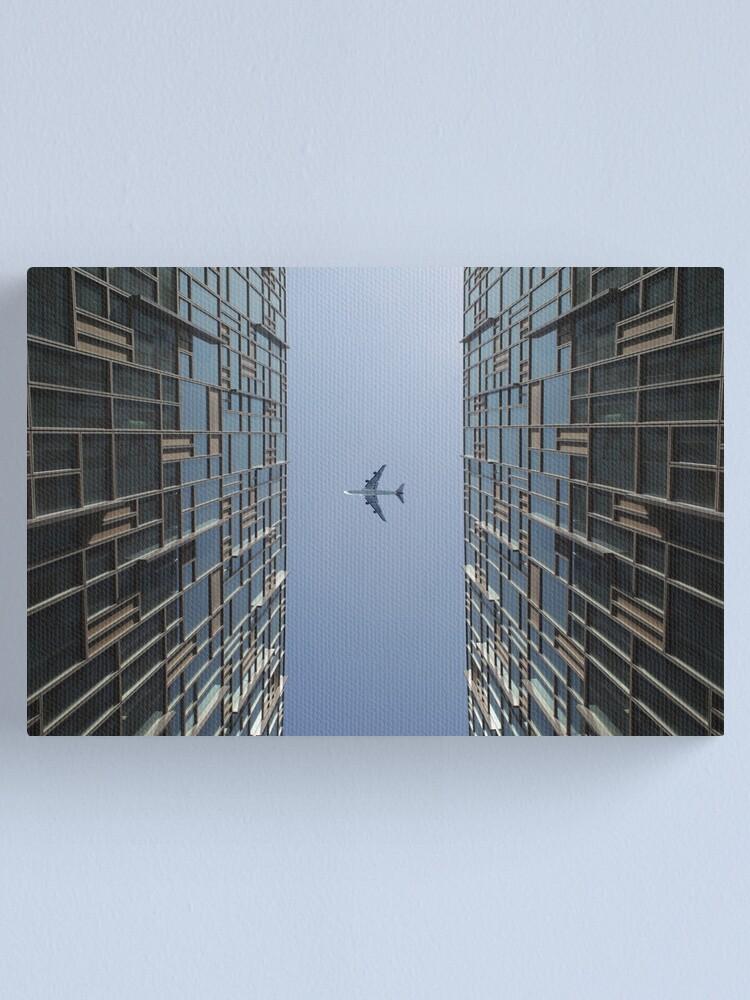 Alternate view of Through the skies  Canvas Print