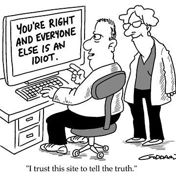Trust this Website by goddardcartoons