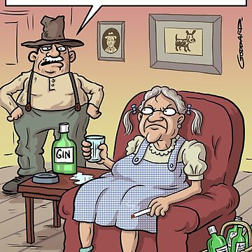 Old Dorothy by goddardcartoons