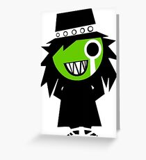 The Hitcher Greeting Card
