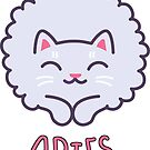 Funny Aries Cat Horoscope Tshirt - Astrology and Zodiac Gift Ideas! by Banshee-Apps
