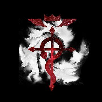 Fullmetal Alchemist Amazing Logo by 32BlackRoses