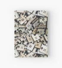 Puzzle Jigsaw Pieces Hardcover Journal