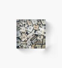 Puzzle Jigsaw Pieces Acrylic Block