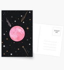 Strawberry Moon  Postcards