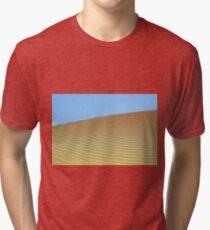 sand dune desert landscape Tri-blend T-Shirt
