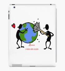 Gift save the earth Ecology iPad Case/Skin
