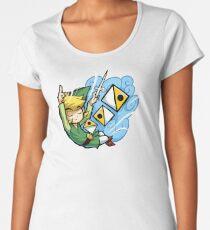 Zelda Wind Waker Wind's Requiem  Women's Premium T-Shirt