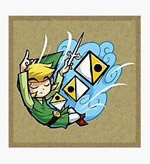 Zelda Wind Waker Wind's Requiem  Photographic Print