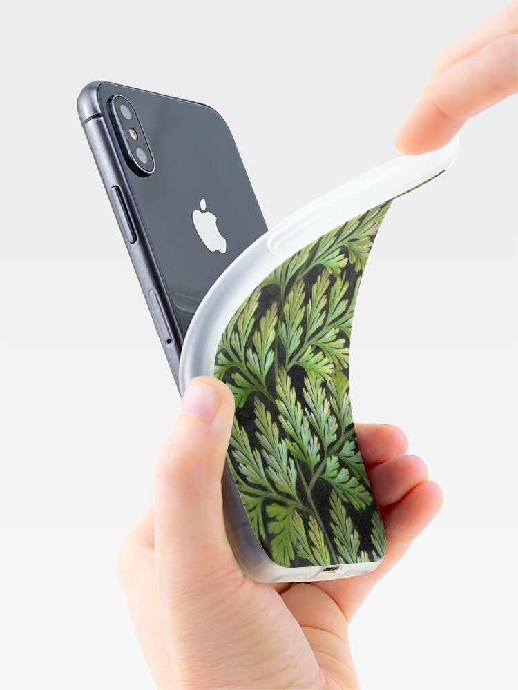 Alternate view of Leaf Abstract iPhone Case & Cover
