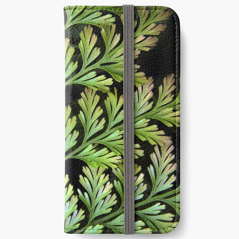Leaf Abstract iPhone Wallet