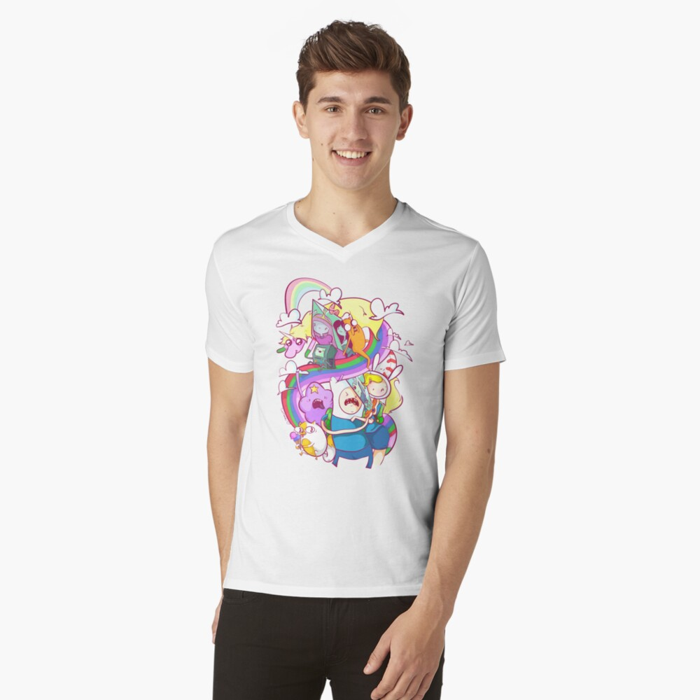My Hero V-Neck T-Shirt