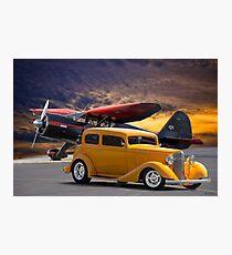 194 Pontiac 8 Sedan 'Tarmac Cruiser' Photographic Print