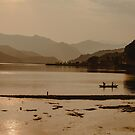One Golden Evening on Phewa Lake by Valerie Rosen
