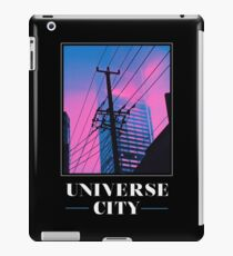 UNIVERSE CITY Postcard iPad Case/Skin