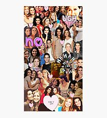 Rizzles collage Photographic Print