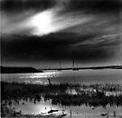 Storm approaching Brancaster Staithe, Norfolk, UK by Richard Flint