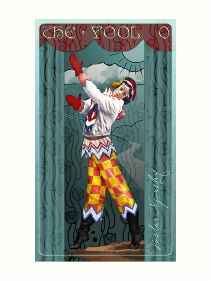 Tarot: The Fool (0) by Ivy Izzard